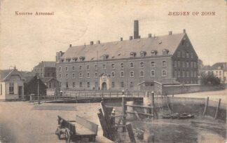 Ansichtkaart Bergen op Zoom Kazerne Arsenaal1918 Militair HC26434