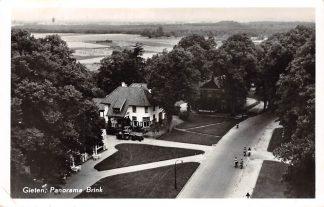 Ansichtkaart Gieten Panorama Brink 1957 Drenthe HC26436
