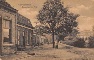 Ansichtkaart Valkenswaard Spoorstraat en Villa 1918 HC26440