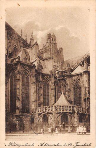Ansichtkaart 's-Hertogenbosch Achterstuk v.d. St. Janskerk HC26443