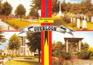 Ansichtkaart Overloon Nederlands Nationaal Oorlogs- en Verzetsmuseum Militair Begraafplaats HC26476