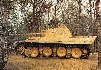 Ansichtkaart Overloon Nationaal Oorlogs- en Verzetsmuseum Museumpark Panzerkampfwagen Panther Ausf. G Duitsland Militair HC26483