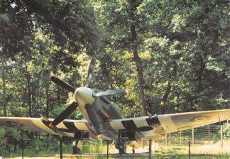 Ansichtkaart Overloon Nationaal Oorlogs- en Verzetsmuseum Spitfire MK XIV C Engels Jachtvliegtuig Vliegtuigen Militair HC26488