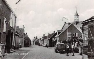 Ansichtkaart Vrouwenpolder Dorpsdijk 1965 Walcheren HC26524