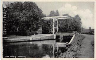 Ansichtkaart Voorburg Oude Tol brug 1932 HC26526