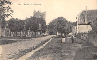 Ansichtkaart Sint Anna ter Muiden Sluis Zeeuws-Vlaanderen HC26562