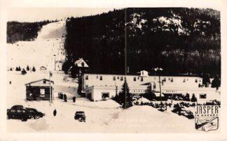 Ansichtkaart Canada Jasper in Quebec Kabelbaan Fotokaart Sneeuw Winter Noord-Amerika HC26563