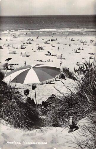 Ansichtkaart Ameland Noordzee strand 1960 HC26591