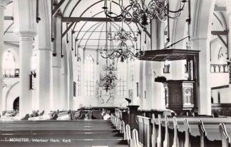 Ansichtkaart Monster Interieur Hervormde Kerk 1966 Westland HC26594