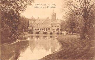 Ansichtkaart Santpoort - Velsen Huize Duin- en Kruidberg 1916 Nauta 6915 HC26606