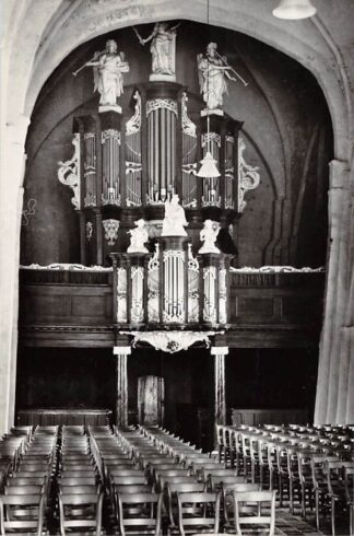 Ansichtkaart Bergum Friesland Orgel Ned. Hervormde Kerk 1967 Tietjerkstradeel HC26621