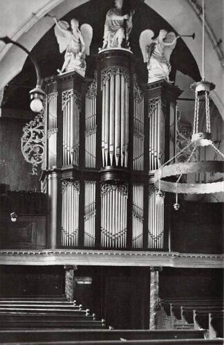 Ansichtkaart Kollum Friesland Orgel Ned. Hervormde Kerk Noardeast-Fryslan 1962HC26622