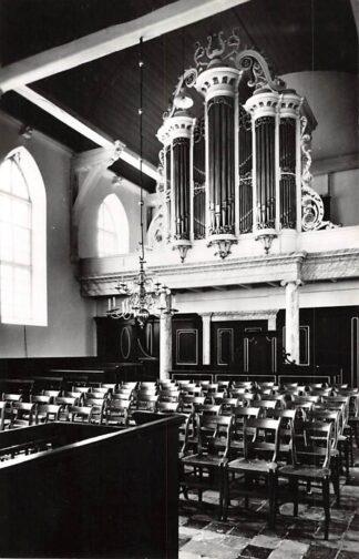 Ansichtkaart Makkum Friesland Ned. Hervormde Kerk Orgel 1958 HC26624