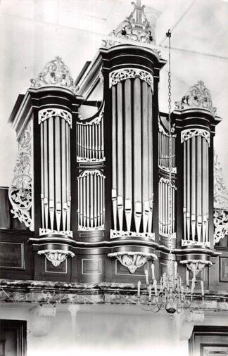 Ansichtkaart Warns Friesland Orgel Doopsgezinde Kerk Sudwest-Fryslan HC26626