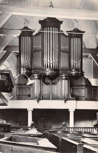 Ansichtkaart Zevenhuizen (ZH) Orgel Ned. Hervormde Kerk 1961 HC26629