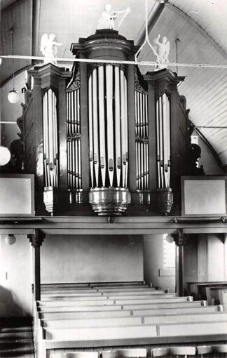 Ansichtkaart Vlagtwedde Groningen Orgel Gereformeerde Kerk 1968 HC26633