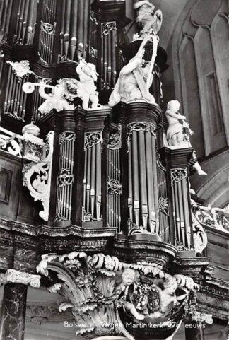 Ansichtkaart Bolsward Orgel Martinikerk 17e eeuws 1964 HC26637