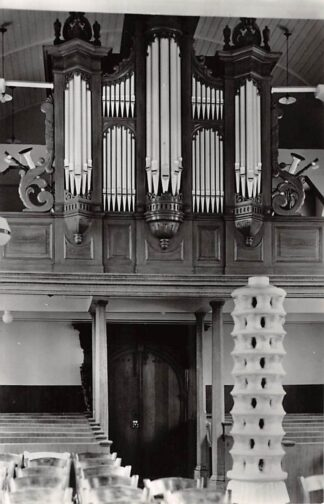 Ansichtkaart Warns Friesland Orgel Ned. Hervormde Kerk 1964 Súdwest-Fryslân HC26638