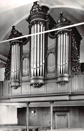 Ansichtkaart Oudemirdum Friesland Orgel Ned. Herv. Kerk 1964 HC26640