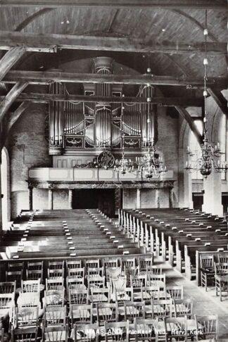 Ansichtkaart Maasland Interieur Ned. Hervormde Kerk Orgel 1965 HC26641