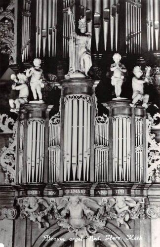 Ansichtkaart Bozum Friesland Orgel Ned. Hervormde Kerk 1974 Súdwest-Fryslân HC26645