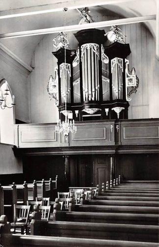 Ansichtkaart Hichtum Friesland Orgel Ned. Hervormde Kerk 1966 Súdwest-Fryslân HC26646