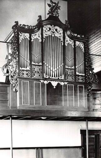 Ansichtkaart Zwartebroek Gem. Barneveld Orgel Gereformeerde Kerk 1968 HC26658