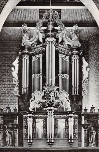 Ansichtkaart Boxmeer Orgel St. Petrus kerk 1963 HC26662