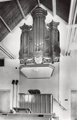 Ansichtkaart Meeuwen Orgel Gereformeerde Gemeente 1962 HC26663
