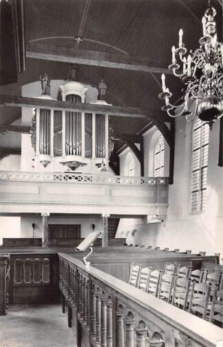 Ansichtkaart Zwammerdam Orgel Ned. Hervormde Kerk 1961 HC26667