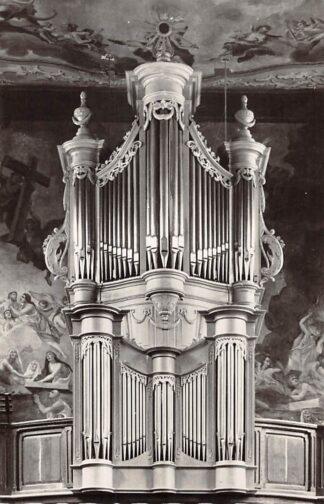 Ansichtkaart Houthem - Sint Gerlach Parochie kerk van de H. Gerlachus Orgel Dispositie HC26680