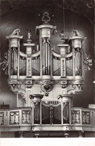 Ansichtkaart Roermond Groot Seminarie Caroluskapel Orgel Dispositie HC26681