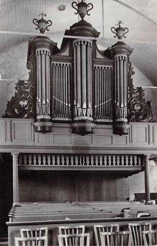 Ansichtkaart Aarlanderveen Orgel Gereformeerde Kerk 1965 HC26684
