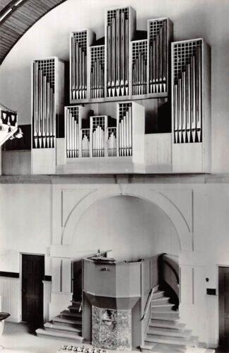 Ansichtkaart De Lier Gereformeerde Vredes kerk Orgel 1966 HC26685