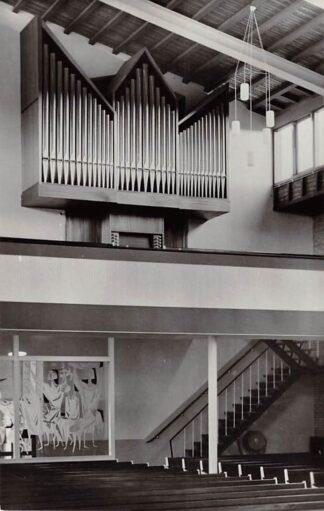 Ansichtkaart Zuidland Gereformeerde Kerk Orgel 1966 HC26686