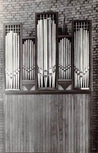 Ansichtkaart De Lier Orgel Gereformeerde Johannes kerk 1966 HC26687