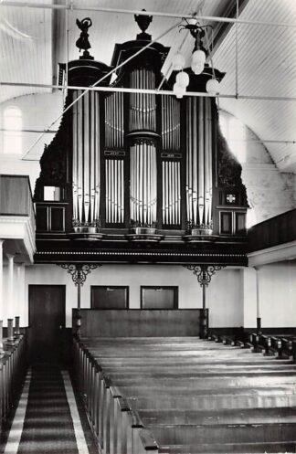 Ansichtkaart Leens Groningen Gereformeerde Kerk Orgel 1968 HC26689