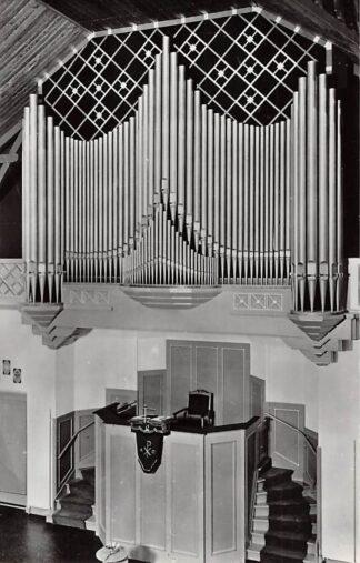Ansichtkaart Berkel (ZH) Orgel Gereformeerde Kerk 1963 HC26690