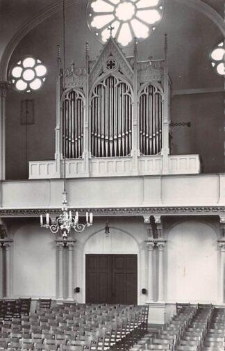 Ansichtkaart 's-Gravenhage Orgel N.H. Zuider kerk 1960 HC26694