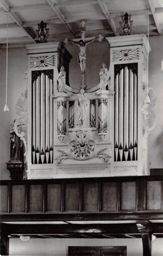 Ansichtkaart Berkel (ZH) Orgel St. Willibrordus kerk 1965 HC26695