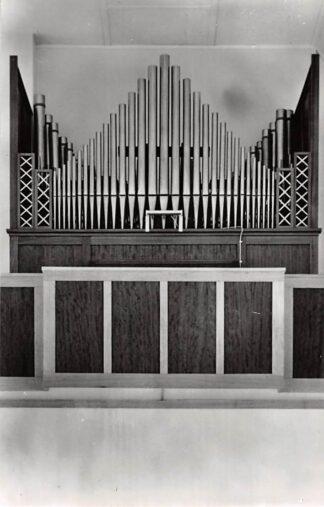 Ansichtkaart 's-Gravenpolder Orgel Gereformeerde Kerk 1964 HC26701