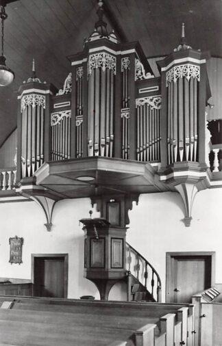 Ansichtkaart Groot-Ammers Orgel Ned. Hervormde Kerk 1962 HC26704