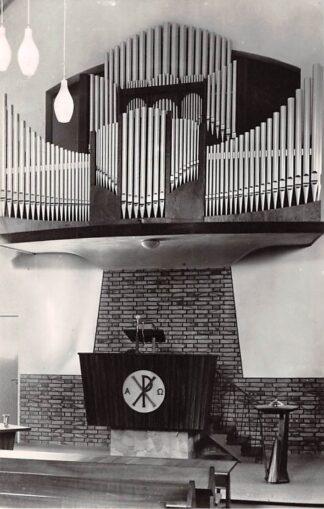 Ansichtkaart Haastrecht Orgel Gereformeerde Kerk 1961 HC26707
