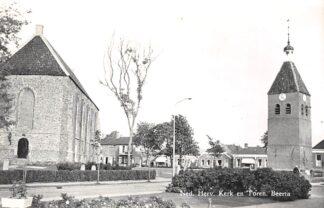 Ansichtkaart Beerta Ned. Hervormde Kerk en Toren Oldambt 1964 HC26712