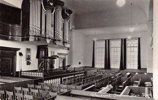 Ansichtkaart Woudsend Interieur Hervormde Kerk met Orgel Súdwest-Fryslân HC26720