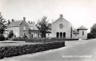 Ansichtkaart Schijndel R.K. Kerk Wijbosch 1983 HC26725