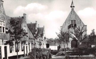 Ansichtkaart Naaldwijk H. Geesthofje Westland HC26727