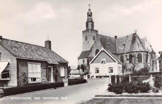 Ansichtkaart Streefkerk Ned. Hervormde Kerk 1971 HC26729