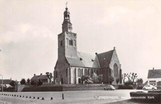 Ansichtkaart Streefkerk Ned. Hervormde Kerk Auto VW 1971 HC26730