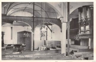 Ansichtkaart Vlieland Interieur Ned. Hervormde Nicolaas Kerk Orgel 1955 HC26732